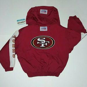 Vintage 49ers Reebok Pro Line Jacket size Medium